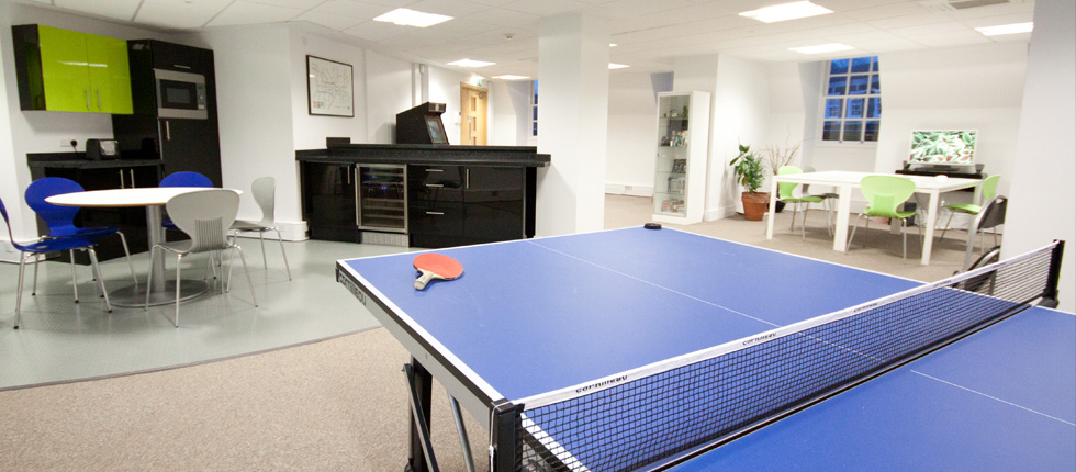 Our table tennis table